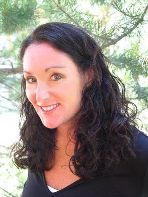Poet Suzanne Roberts